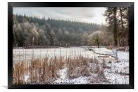 Winter at Mallards Pike No 4, Framed Print