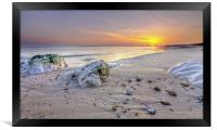 Hengistbury Head Sunset, Framed Print