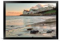 Day Break at Swanage, Framed Print