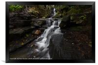 Lumsdale Falls 6.0                      , Framed Print