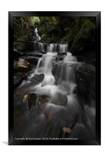 Lumsdale Falls 8.0               , Framed Print