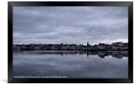 STORNOWAY AREA REFLECTIONS 1, Framed Print