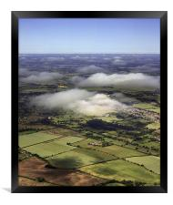 Microlight View, Framed Print