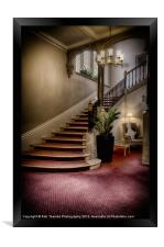 THE STAIRCASE, Framed Print