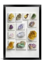 Second mineral exhibition, Framed Print