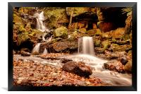 Lumsdale Falls 2, Framed Print