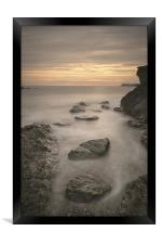 Welsh Seascape, Framed Print