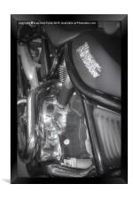 Born to Ride, Framed Print
