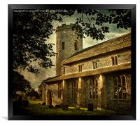 St Margarets Church Burnham Norton, Framed Print