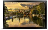 Marlow Late Afternoon, Framed Print