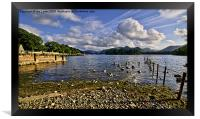 Derwentwater From The Northern Shore , Framed Print