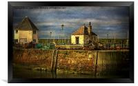 The Harbour At Maryport, Framed Print