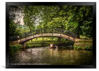 The River Isis At Oxford, Framed Print