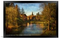 Whitchurch on Thames, Framed Print