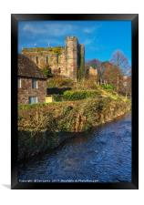 Brecon Castle, Framed Print
