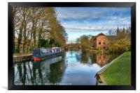 The Kennet At West Mills Newbury, Framed Print
