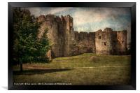 Chepstow Castle Towers, Framed Print