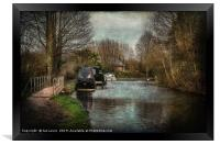 A Walk By The Kennet, Framed Print