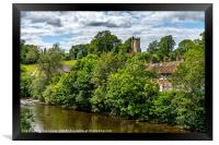 The Culloden Tower Richmond Yorkshire, Framed Print
