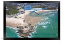 Gold Coast Aerial, Framed Print