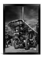Showman`s (Traction) Engine_Reknown, Framed Print