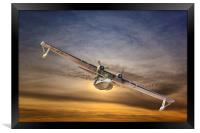 A  PBY Catalina Soars, Framed Print