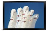 Red White And Blue !! Total Perfection !!, Framed Print