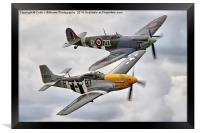 A Close Pass - Dunsfold 2014, Framed Print