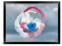 The Red Arrows - Head On , Framed Print