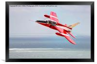 The Red Gnat Display Team, Framed Print