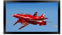 The Red Arrows RIAT 2015 7, Framed Print