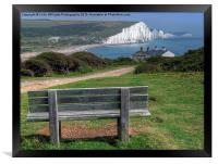Seven Sisters The View, Framed Print