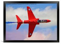 The Red Arrows RIAT 2015 9, Framed Print