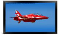 The Red Arrows RIAT 2015 13, Framed Print