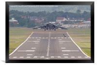 Vulcan To The Skies - Farnborough 2014 2, Framed Print