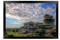 Brimham Rocks North Yorkshire 2, Framed Print