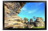 Brimham Rocks North Yorkshire 4, Framed Print