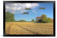 Hurricane And Spitfire 3, Framed Print