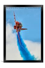 The Red Arrows At RIAT 2017 - 2, Framed Print