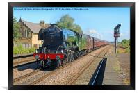 The Flying Scotsman At Church Fenton 2, Framed Print