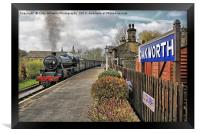 Oakworth Station, Framed Print