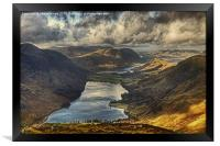 The View From Fleetwith Pike, Framed Print