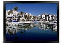 A day of reflection, Framed Print