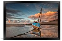 DRAMATIC SKY ( On the shore), Framed Print
