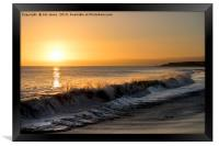 First dawn of a New Year, Framed Print