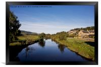 The River Coquet at Rothbury, Framed Print