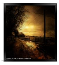 Country Ways, Framed Print