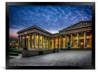 The British Museum, Framed Print