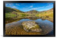 Snowdonia Mountain Reflections, Framed Print