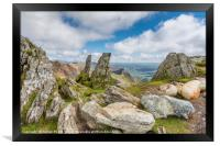 View from the Summit, Framed Print